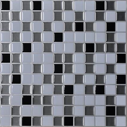 Amazon Hentl 12 X 12 Peel And Stick Tiles Self Adhesive Vinyl