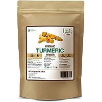 Just Jaivik 100% Usda Organic Turmeric Powder (Curcuma Longa) - Certified Organic By Onecert Asia Under Nop- 227 Gms / 1/2 Lb Pound / 08 Oz - (An Usda Organic Product)