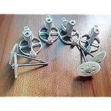 Qsmily® 4Pcs Motor Mounts & 4Pcs Gears for JJRC H26 H26C H26W H26D RC Quadcopter Parts