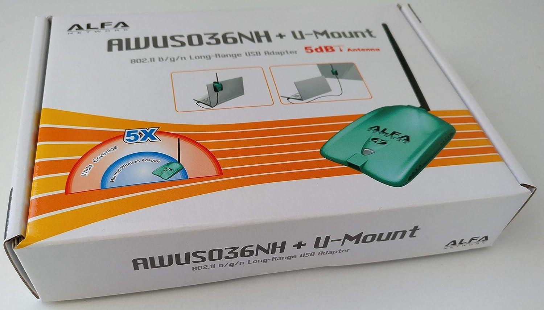 Alfa Network AWUS036NH 2000mW Antena Wifi USB
