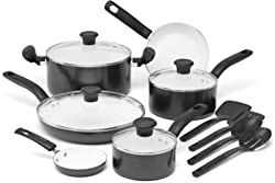 T-fal C996SE Initiatives Nonstick Ceramic Cookware Set