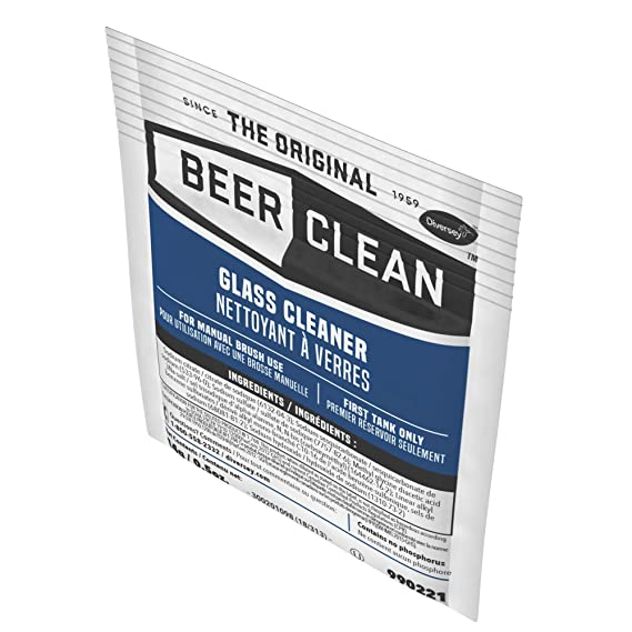 Diversey Beer Clean Glass Cleaner (0 5 Ounce, 100-Pack)