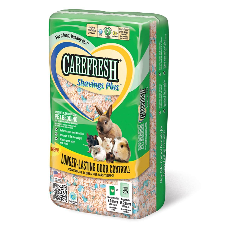 Absorbtion Corp Carefresh Shavings Plus Pet Bedding, 14-Liter