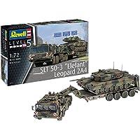 """Revell REV-03311 SLT 50-3 """"Olifant en Leopard 2A4, 1:72 TOYS, gekleurd"""