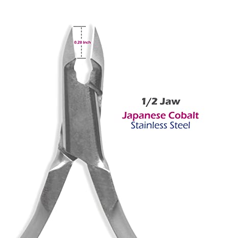 Amazon.com: Cuticle nippers Professional in Cobalt Stainless Steel, The best and durable Sharpening, manufactured by PS STAR, Nail Art Tools, ...
