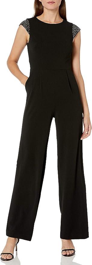Calvin Klein 卡尔文克莱因 CK 女式无袖连身衣 2码2.8折$41.81 海淘转运到手约¥313