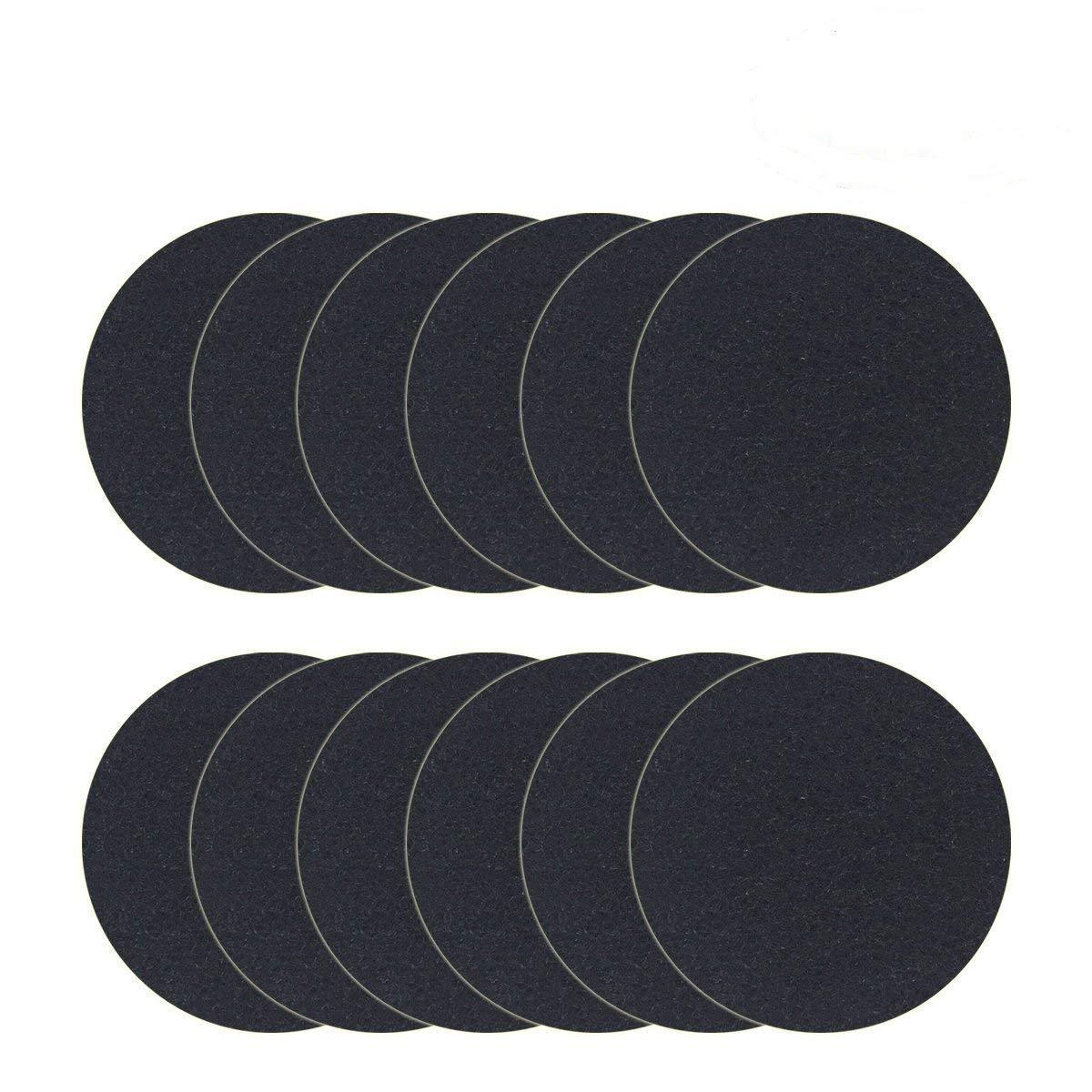 MMBOX Ersatz-Kohlefilter für Komposteimer/Komposteimer / Komposteimer/Ersatz-Kohlefilter/Kohlefilter für die Küche, 19,8 cm, rund, 12 Stück 12 Stück