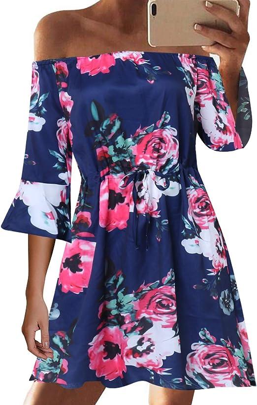 34 36 braun  Blumen Neu  S//M Romantisches Kleid Sommerkleid Gr