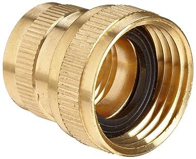 Amazoncom Anderson Metals Brass Garden Hose Fitting Swivel 34