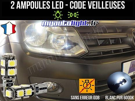 Lote de bombillas led de color blanco xenón para Volkswagen Amarok