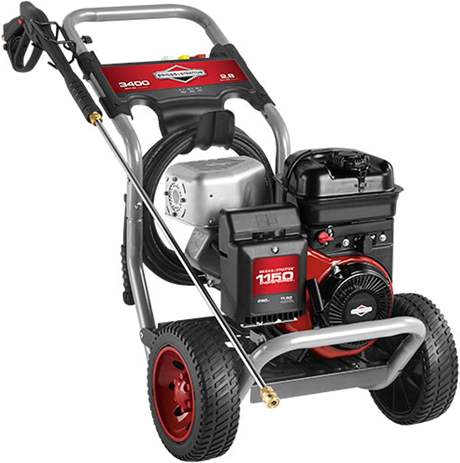 Briggs & Stratton S3400 3400 MAX PSI at 2.5 GPM Gas Pressure Washer