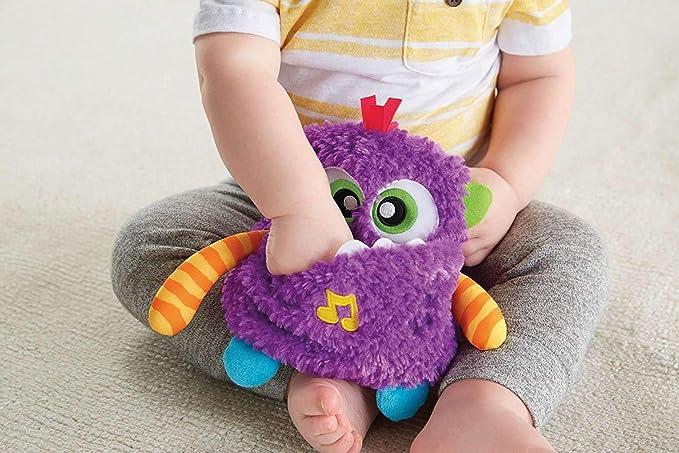 Fisher-Price Peluche Monstruito risitas, juguete bebé +6 meses (Mattel DYM88): Amazon.es: Juguetes y juegos
