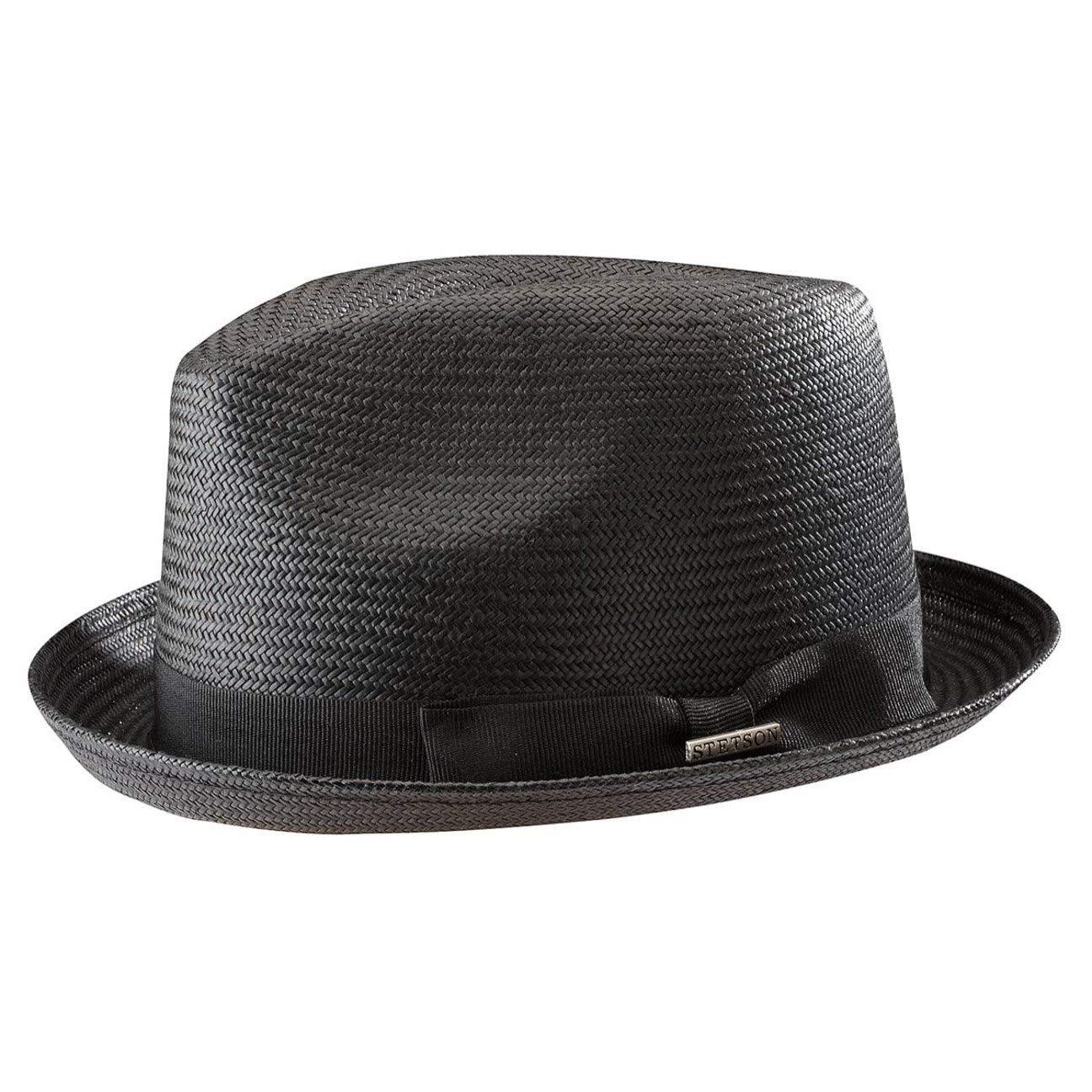 Stetson Pelham Toyo Player Hut für Damen und Herren Herrenhut Trilby Damenhut mit Ripsband Sommer 1348501-1