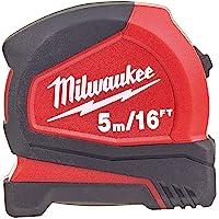 Milwaukee T4932459595 Şerit Metre Pro Kompakt, 5 m/16 İnç