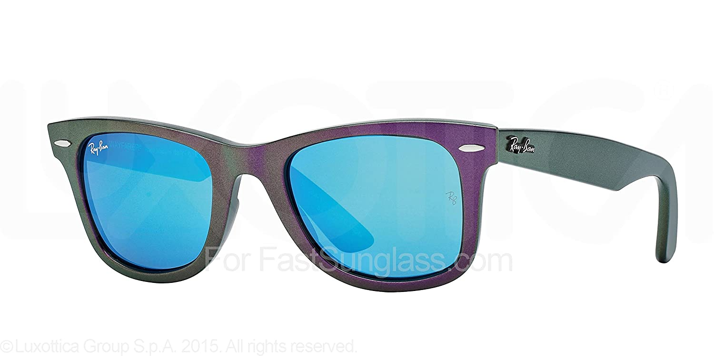 Amazon.com: Ray-Ban Wayfarer – Gafas de sol metálicas en ...