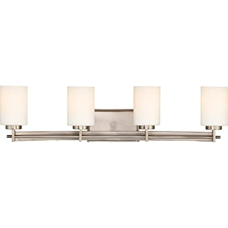 TY8604AN Four Light Taylor Bath Light in Antique Nickel - TY8604AN Four Light Taylor Bath Light In Antique Nickel - Vanity