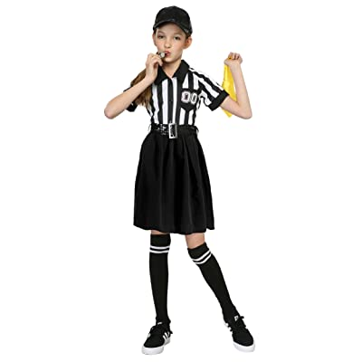 Girl's Referee Costume: Clothing