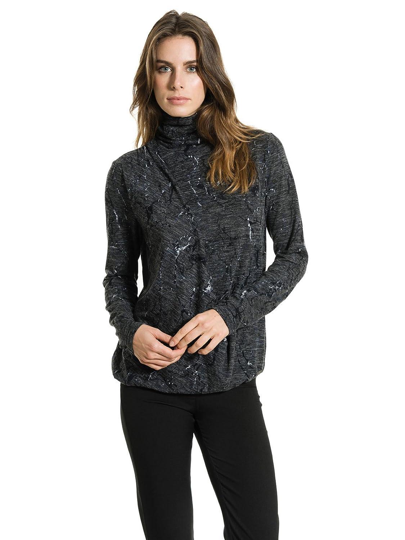 smash Agatis, Camiseta para Mujer, Verde (Dark Grey), 36 (Tamaño del Fabricante:S)