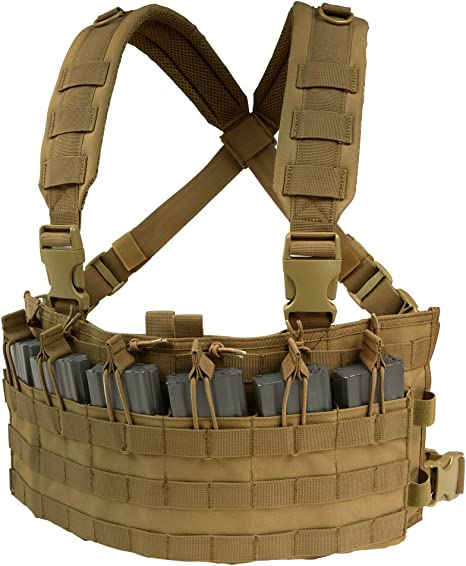 Condor Outdoor - Chaleco táctico tipo Chest Rig - MCR6-498, Marrón ...