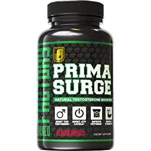 Jacked Factory PRIMASURGE Natural Testosterone Booster for Men