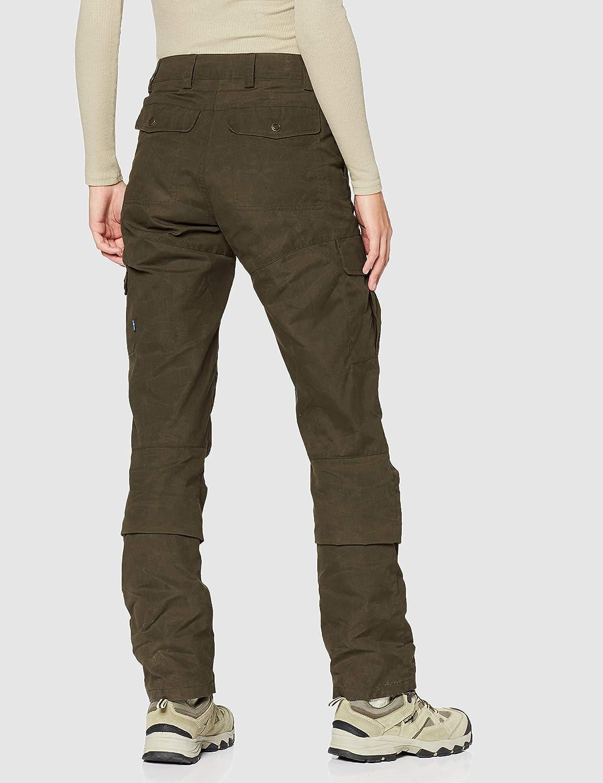 Dark Olive 38 FJALLRAVEN Karla Pro Trousers W Pantal/ón Mujer