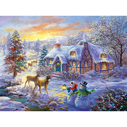 Amazoncom Christmas Package Diamond Painting Kits For Adults Full