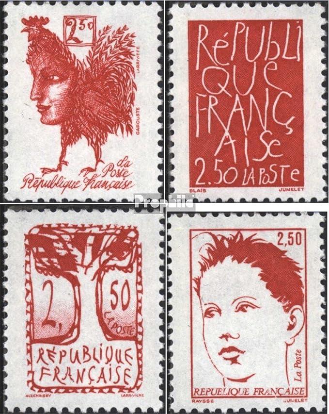 1951 Provinzwappen Prophila Collection Frankreich 917-921 Briefmarken f/ür Sammler kompl.Ausg.
