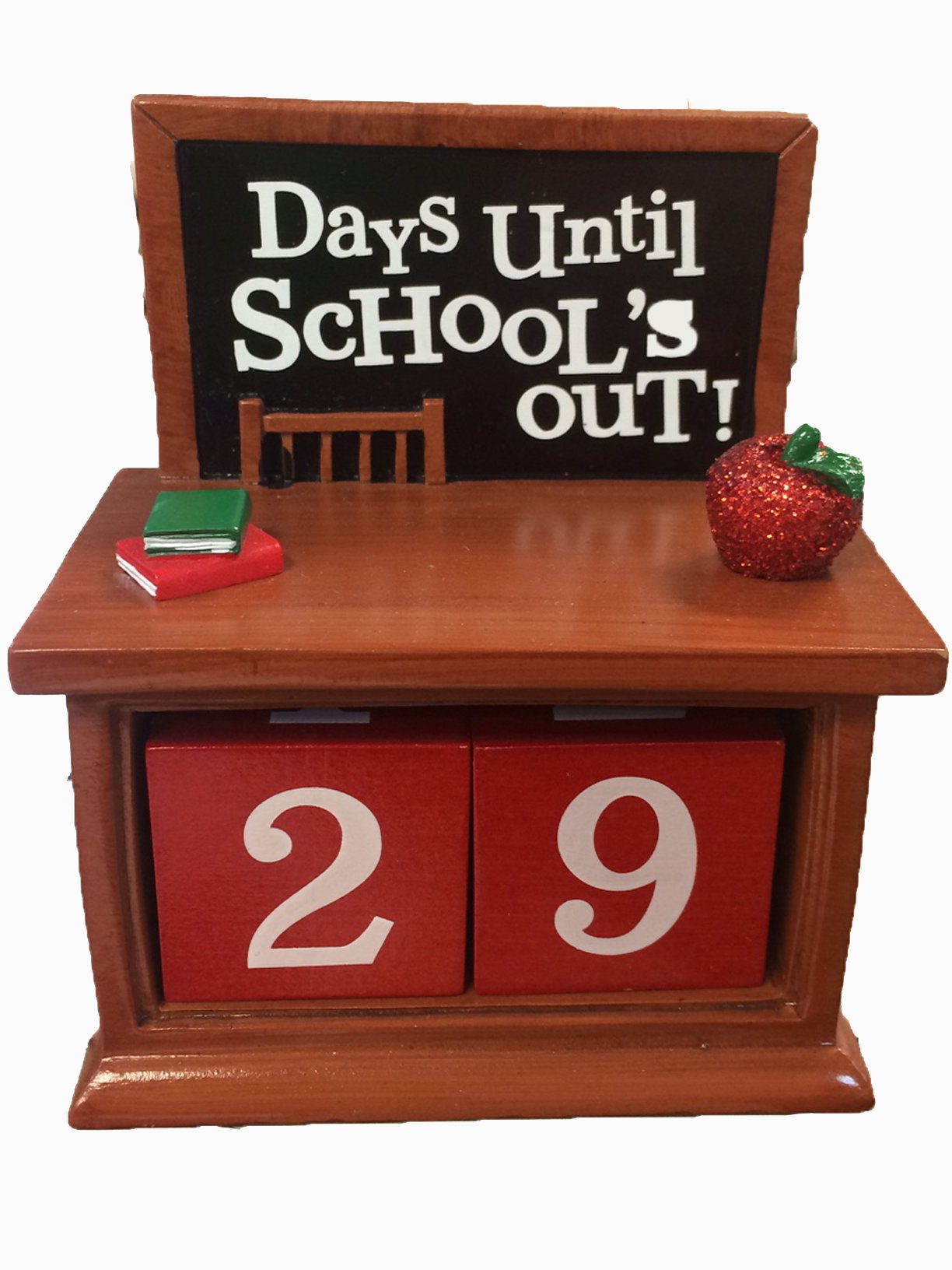 Hallmark ''School's Out'' Chalkboard Perpetual Calender