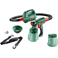 Bosch Paint Spray System PFS 2000 (440 Watt, for Wood Paint and Wall Paint, Shoulder Strap Included, in Box)