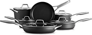 product image for Calphalon Premier Hard-Anodized Nonstick 11 Piece Cookware Set, Black