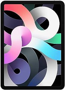 New Apple iPadAir (10.9-inch, Wi-Fi, 256GB) - Silver (Latest Model, 4th Generation) (Renewed)