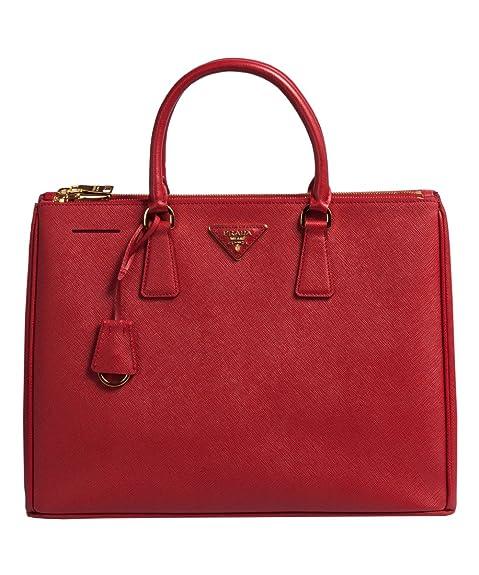 06cab44f44af Prada BN1786 Authentic Bag-Red Fuoco Saffiano Lux Calf Leather Handbag:  Amazon.ca: Shoes & Handbags