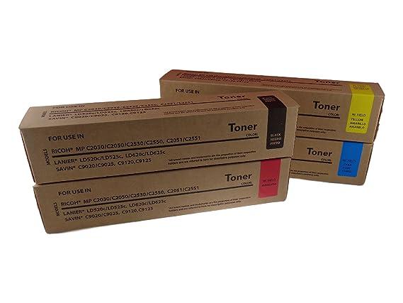 C2051 C2551 Cyan Toner Cartridge 841281, 841503 Ricoh MP C2030