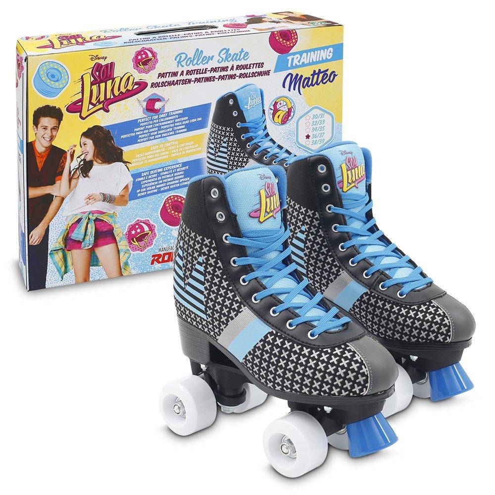 Soy Luna - Matteo Patines Roller Training, Talla 34/35 (Giochi Preziosi YLU57101): Amazon.es: Juguetes y juegos
