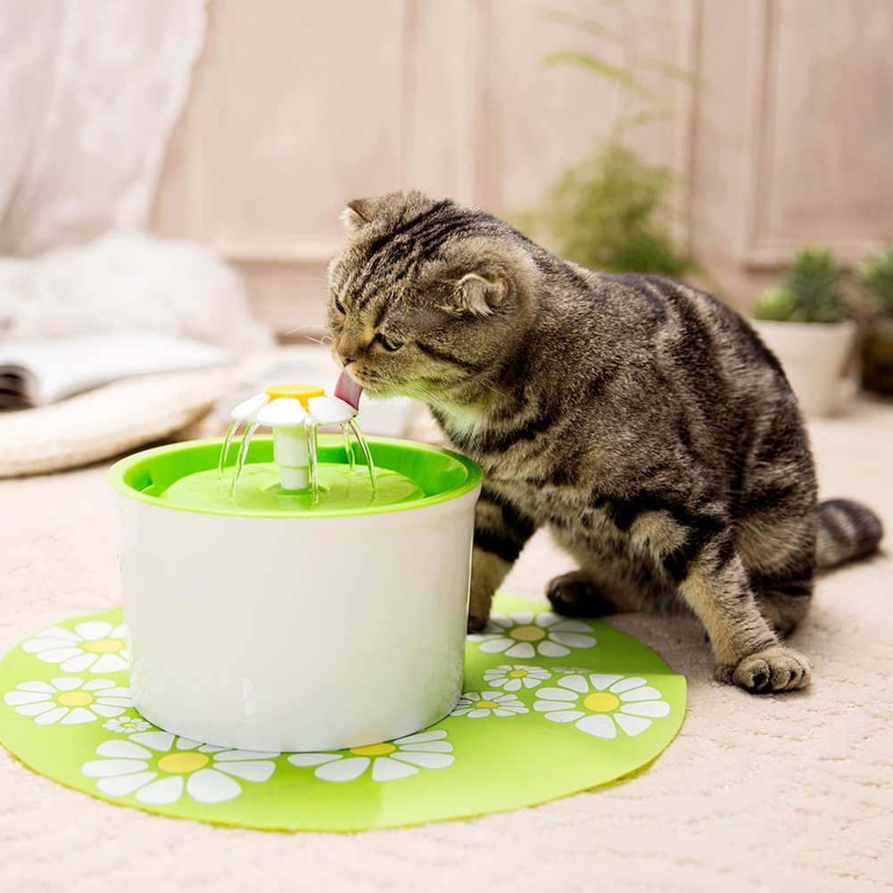 Iainstars Automatic Pet Drinking Fountain Mute Cat Dog Water Dispenser Feeder by Iainstars (Image #6)