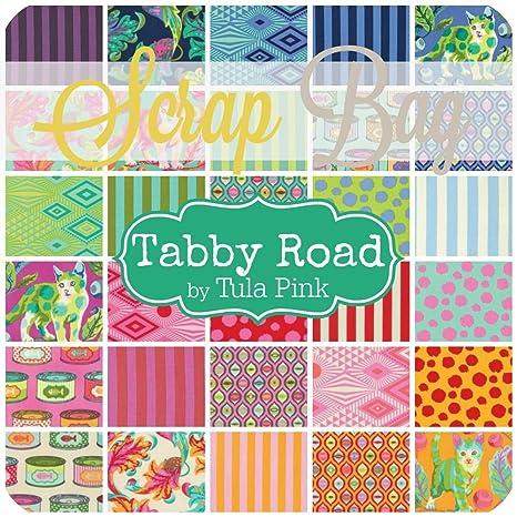 Amazon.com: Tabby Road chatarra Bolsa (aprox. 2 yards) por ...