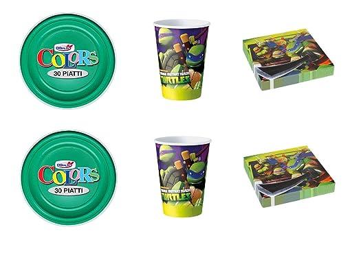 Cdc - Kit n.° 1 para fiestas y celebraciones de las Tortugas ...