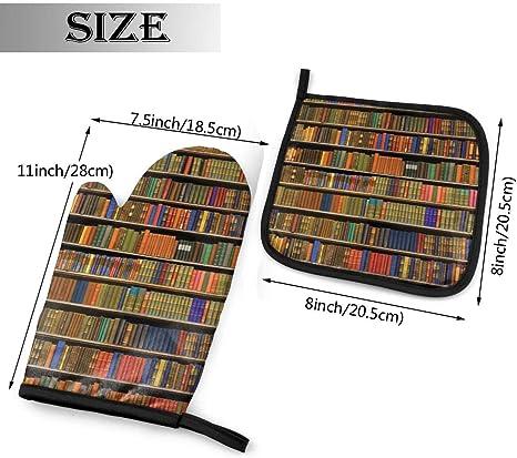 Bookshelf Oven Mitt
