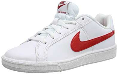 half off 75c68 a7e4d Nike Wmnscourt Royale, Sneakers Basses Femme, Multicolore University Red  White 001, 39