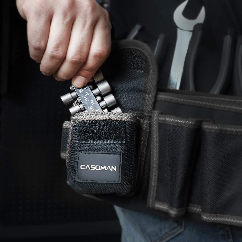 Electric Hand Drill 20-piece. CASOMAN Power Nut Driver Bit Set 1//4 Hex Nut Driver Master Kit for Quicker Change Chuck