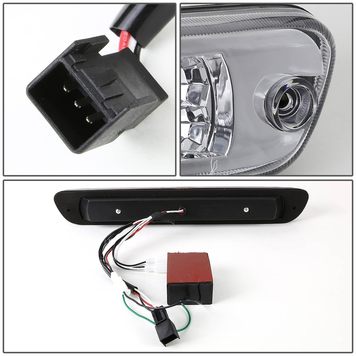 DNA Motoring 3BL-COLO04-LED-BK Third Brake Light