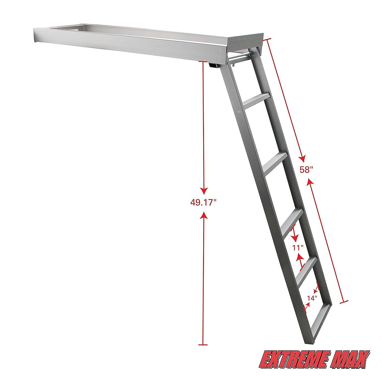 5-Step Extreme Max 3005.3430 Undermount Pontoon Ladder