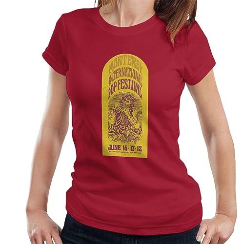 Monterey International Pop Festival Poster 1967 Women's T-Shirt