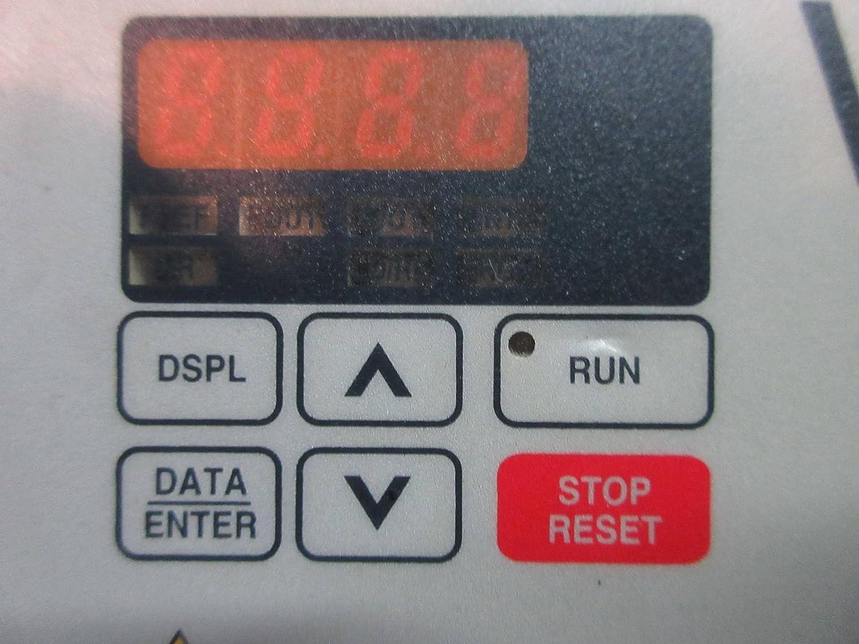 Yaskawa Varispeed V7-4X Drive CIMR-V7CU40P7 460V 8.8 Amp 460 Vac Free Shipping
