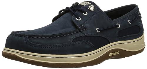 Sebago B243611 - Mocasines de Piel Hombre, Color Azul, Talla 41 EU: Amazon.es: Zapatos y complementos