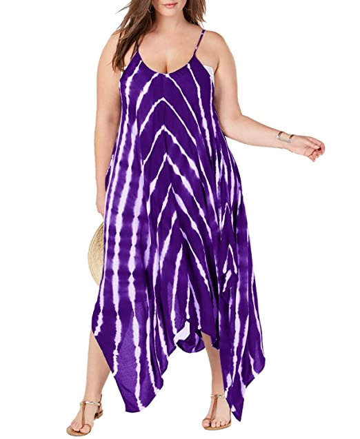 Amazon.com: Traje de baño para mujer con cobertura, vestido ...
