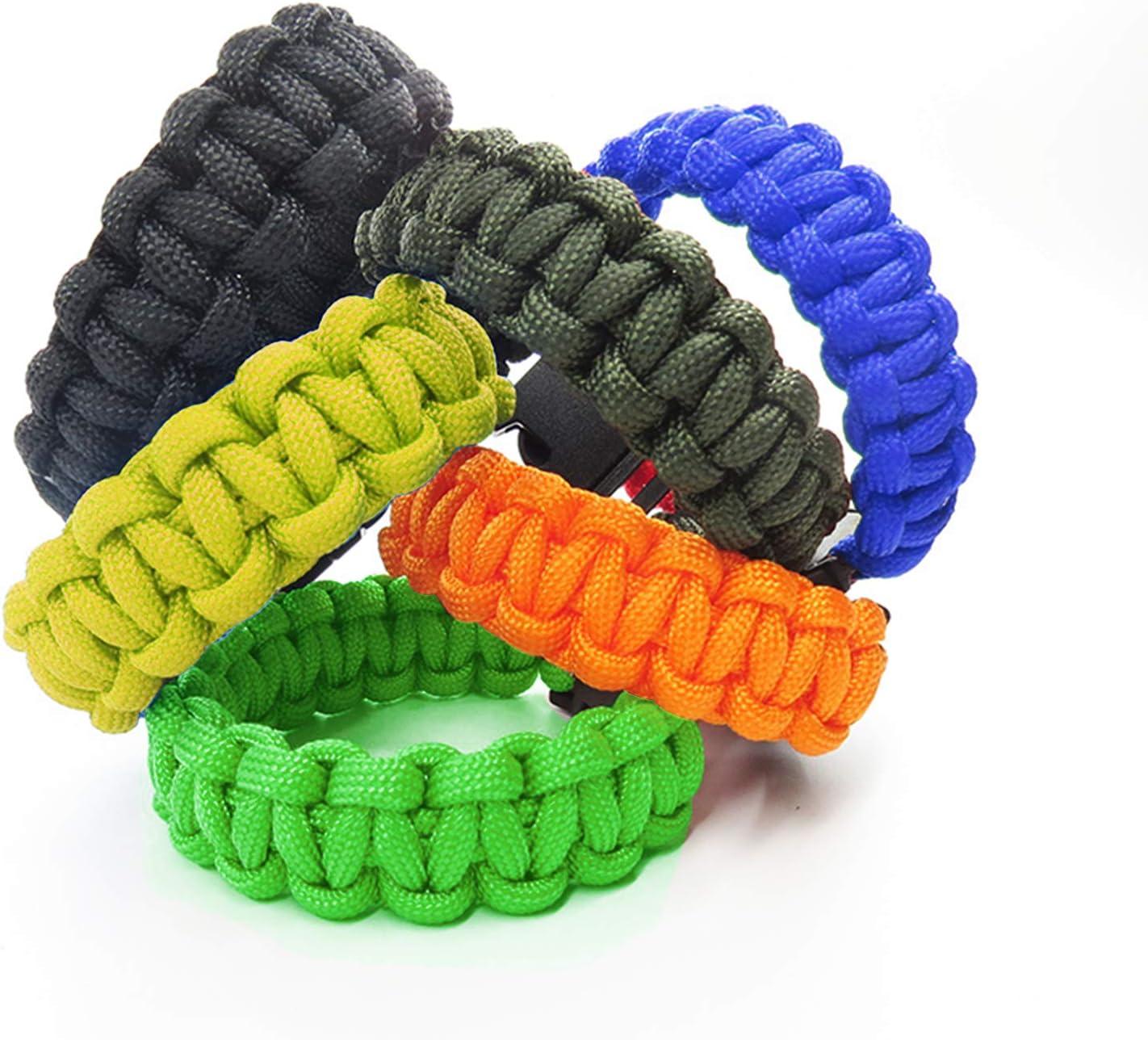 Matogle Paracord Schnur Seile 14 St/ück Multifarben Parachute Cord Armband Leinen B/änder mit 40 St/ück Schnallen Clips DIY-Schnallen-Armband-Seil f/ür DIY Armb/änder Schl/üsselanh/änger Climbing