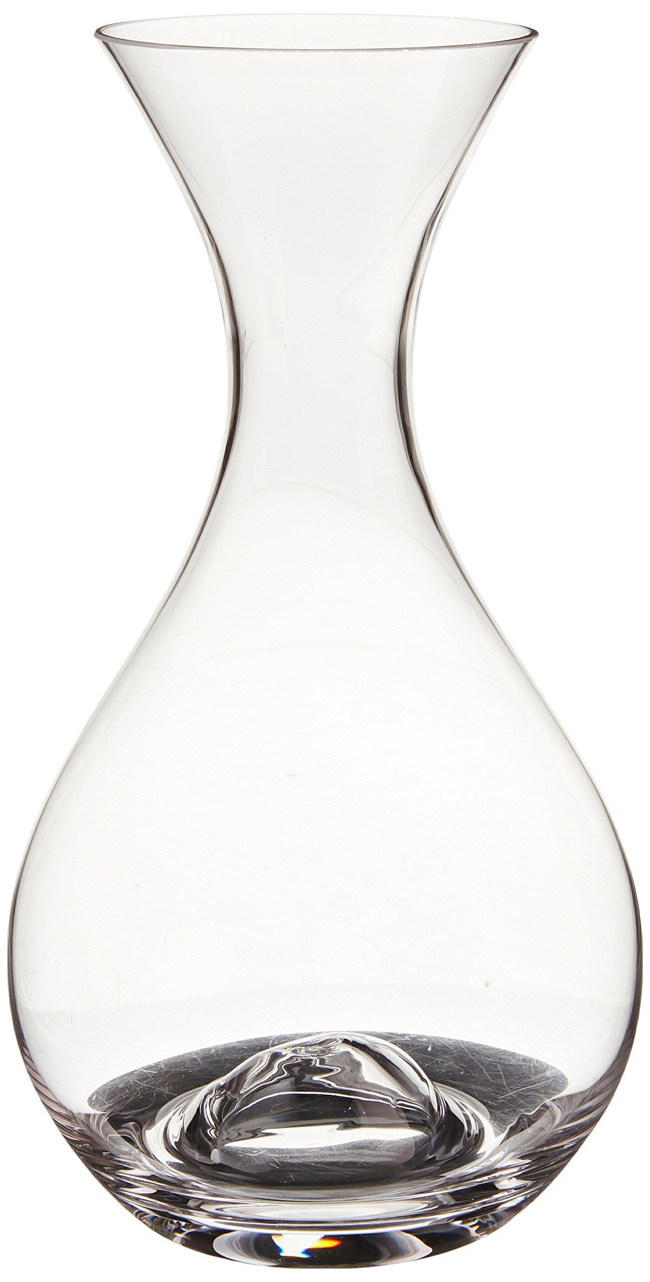 Amazon luigi bormioli magnifico 35 ounce decanter with punt wine enthusiast u wine decanter floridaeventfo Gallery