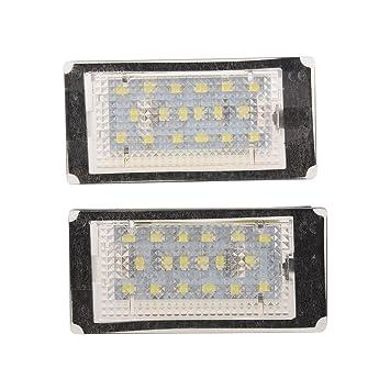 XZANTE 18 3528 SMD LED Matricula Luz Lampara Bombilla para BMW E46 323 325 330 M3 Coupe 2-Puertas: Amazon.es: Coche y moto