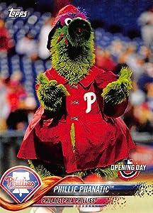 2018 Topps Opening Day Mascots #M-18 Phillie Phanatic Philadelphia Phillies